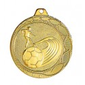 Médaille 50mm football  - Superbe frappe!