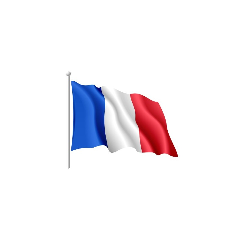 Favorit drapeau français-made in france-drapeau tricolore AX79