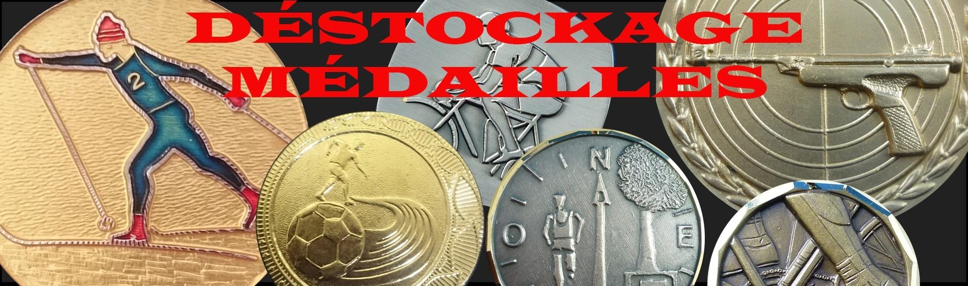 Déstockage médailles